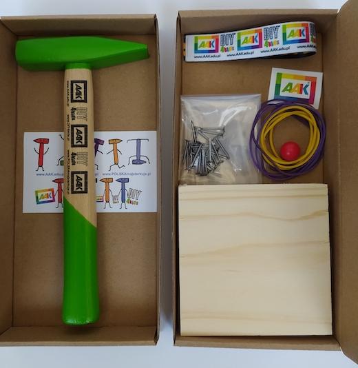 Majsterkowanie dla dzieci DIY4kids Szkoła Majsterkowania Kolorowe Młotki Młotek dla dziecka